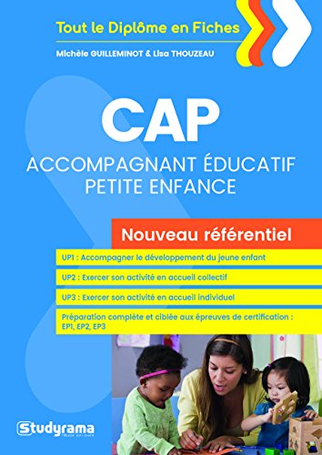 CAP Accompagnant ducatif petite enfance : Nouveau rfrentiel
