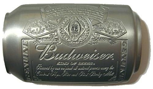 BUDWEISER CAN Fibbia per Cintura + espositore