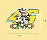 Ecoshirt FY-XS2A-REMQ Pegatinas Stickers Rossi 46 Ref: Pd86 Aufkleber Autocollants Adesivi Moto GP Decals Motorcycle