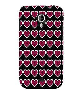 EPICCASE lollipop hearts Mobile Back Case Cover For Micromax A116 Canvas HD (Designer Case)