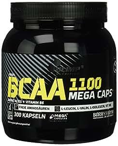Olimp BCAA Mega Caps 1100, 300 Kapseln, 1er Pack (1 x 384 g)