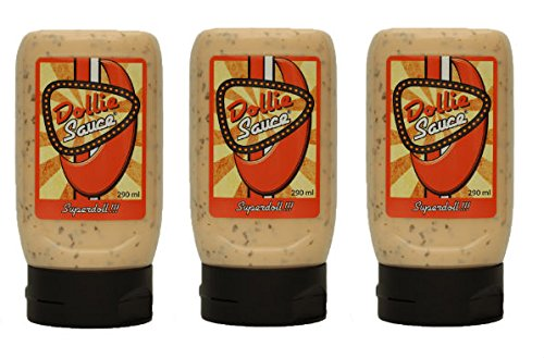 Dollie Sauce 3er Pack Dolliesaus - die ultimative BBQ Sauce ! SUPERLECKER