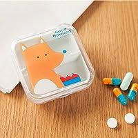 opuss–Pille Fällen–Tragbar leer Mini Cute Pillendose 【 One PCs 】 preisvergleich bei billige-tabletten.eu