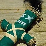 Wanga Doll Green - Authentische Voodoo Puppe mit Nadel und Ritualanleitung - Glückszauber - Glück...