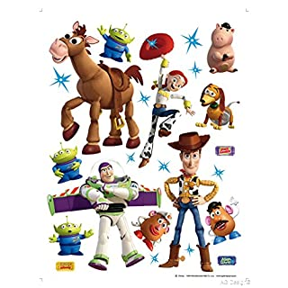 Disney AG Design - Wall Sticker Self Adhesive Toy Story – wall decal – 65x85cm/25,5x33,5 inches, 1 part – DK 1771