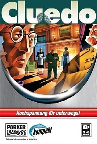 CLUEDO Kompakt von PARKER Reisespiel oder für Zuhause Brett (Monopoly Kompakt)
