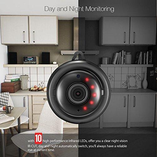 digoo dg-myq Amazon Web Service Cloud Speicher 2.1mm Ziel 720P WiFi Nachtsicht bidirektionale Audio Smart Home Sicherheit IP Kamera Motion Detection Alarm Unterstützung Monitor ONVIF von scoutbar