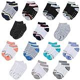 Lictin 14 Paar Kinder Antirutsch Sock Knöchel Socken Baby ABS Antirutsch Socken Antirutsch Babysocken für kinder 2-3 Alter Mädchen oder Jungen