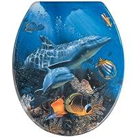 Wenko 19551100 Abattant Sea Life Thermodur