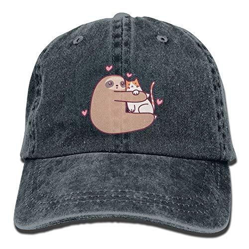 bt Katzen-Unisexdenim-Cowboy-personalisierten Vintagen Hut ()
