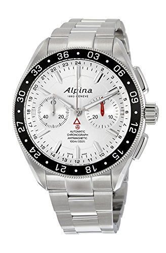 Alpina Alpiner Chronograph 4 Automatic Stainless Steel Mens Watch AL 860S5AQ6B