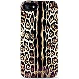 Puro - Carcasa con diseño de Leopardo de Just Cavalli para iPhone 5
