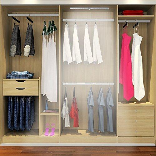 kingso lampe placard applique d tecteur de mouvement avec. Black Bedroom Furniture Sets. Home Design Ideas