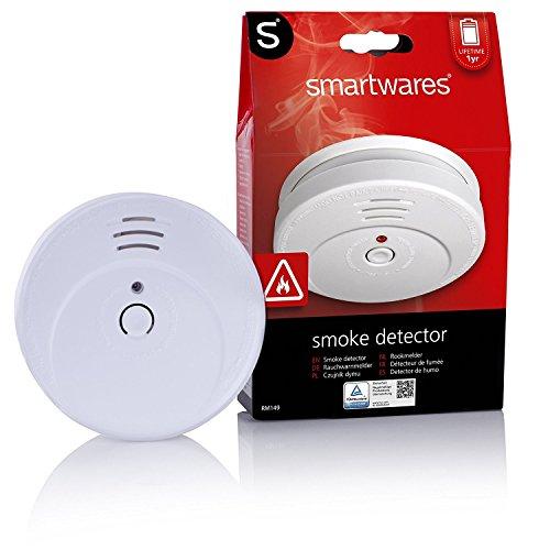 Smartwares TÜV Rauchmelder / Brandmelder, DIN EN 14604, reinweiß, RM149_1J - 12