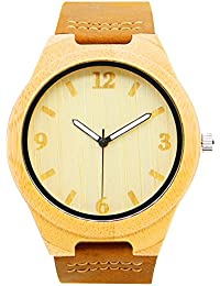 IBigboy Gorgeous Bamboo Wood Watch Wooden Watches Men's Wristwatch Quartz Watch IB-1600Cd