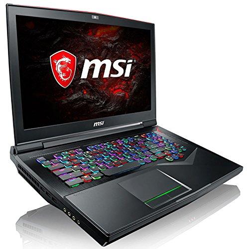 MSI GT75VR 7RF Titan Pro -063FR Ordinateur Portable Hybride 17,3″ Noir (Intel Core i7, 16 Go de RAM, 1 To, GeForce GTX 1080/8 Go GDDR5X, Windows 10 Home)