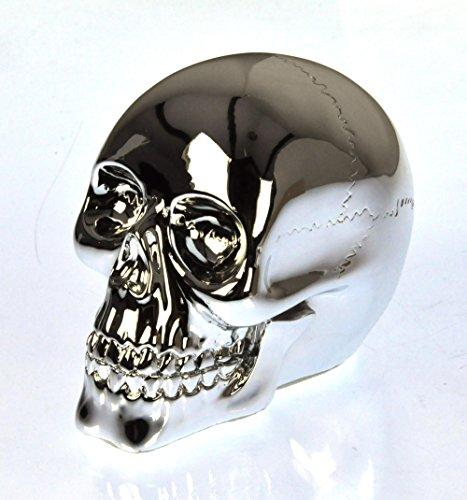 Chrome Skull 10cm / 4\\