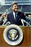 Posterlounge Forex 20 x 30 cm: President Kennedy at Rice University di Everett Collection