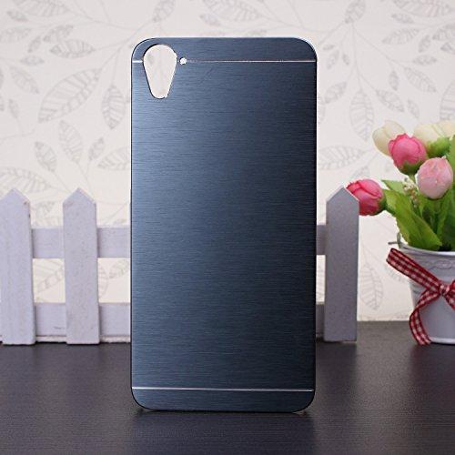 HTC 826 Case,linie Wirkung Auf Fall Einfarbig Aluminium Metal Und Plastik - Hardcover Für Htc 826 ( Color : Rose , Size : HTC 826 ) Purple