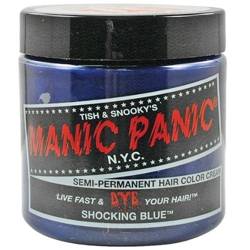 Manic Panic - Shocking Blue Cream Hair Color by Old Glory