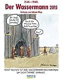 Wassermann 2015: Sternzeichen-Cartoonkalender