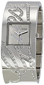 Reloj de mujer Guess Autograph W12063L1 de cuarzo, correa de acero inoxidable color plata de Guess