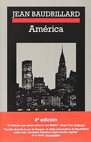 América (Crónicas) por Jean Baudrillard