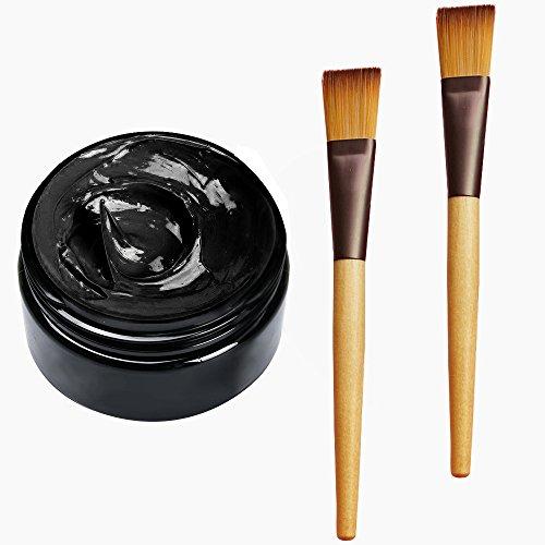Maskenpinsel Gesicht, JIEMO Masken Pinsel [2 Stück], Black Mask Pinsel Mitesser Maske Bürste für...