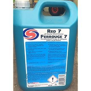 Autosmart Red 7 5L pH-neutraler Felgenreiniger, Fallout-Entferner & gratis Pumpe -