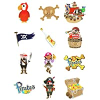 Oxford Novelties 1-12 Packs Of Kids Temporary Tattoos - Pick From 14 Designs