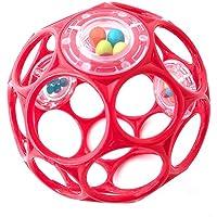 Oball - Rattle 10 cm Spielzeug mit Rasselperlen Rot preisvergleich bei kleinkindspielzeugpreise.eu