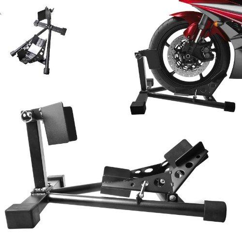 worktekk Vorderradklemme Standschiene Motorradständer Motorradwippe Montageständer Halter