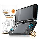 ORZLY® 2DSXL DisplaySchutzfolien, Multipackung mit 6 Schutzfolien für New 2DS XL (3 Pro Bildschirm) - Voll-Transparent Display schutzfolien für Das Neu Nintendo 2DS XL (2017 Version)