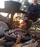 Camp-Chef-DO-12-Pre-Seasoned-Schmortopf aus Gusseisen - Schwarz