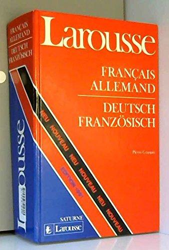 Dictionnaire Français-Allemand Deutsch-Französisches Wörterbuch