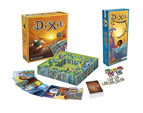 Outletdelocio. Pack Juego mesa Dixit Clasico + expansion