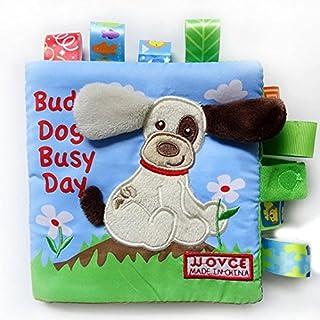 AutumnFall® Animal Dog Puzzle Cloth Book Baby Toy Cloth Development Books
