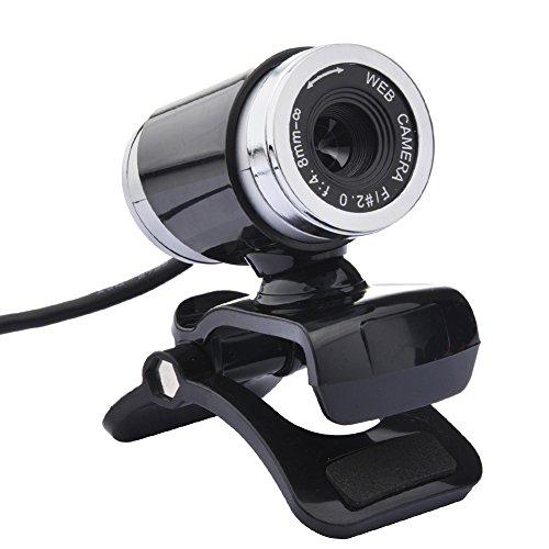 Webcam USB, Ordinateur de Bureau USB Webcam HD DE 12MP Camera w/Mic pour PC/Ordinateur Portable No