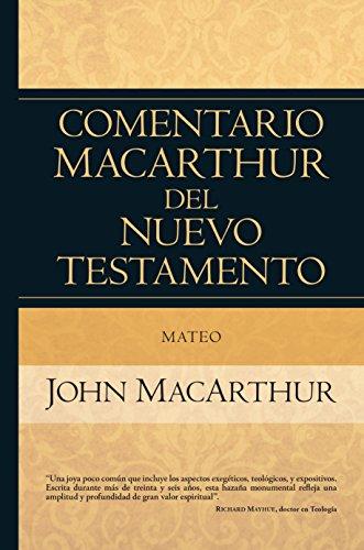 Mateo (Comentario MacArthur) por John MacArthur