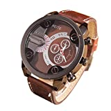 Herren Uhren 2018 Xinantime Kreativität Hollow Design Transparent Analog Sport Stahl Fall Quarz Leder Armbanduhren Blau/Rot/Weiß (Standard, Weiß)
