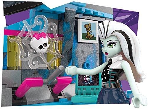 Image of Mega Bloks Monster High Frankie Stein's Electrifying Room Building Set