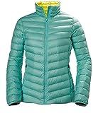 Helly Hansen W Verglas Down - Chaqueta térmica para Mujer, Chaqueta, Mujer, Color Jade, tamaño Medium