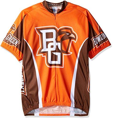 Adrenaline Promotions NCAA Bowling Green State University Falken Radfahren Jersey, Jungen, Orange, XX-Large