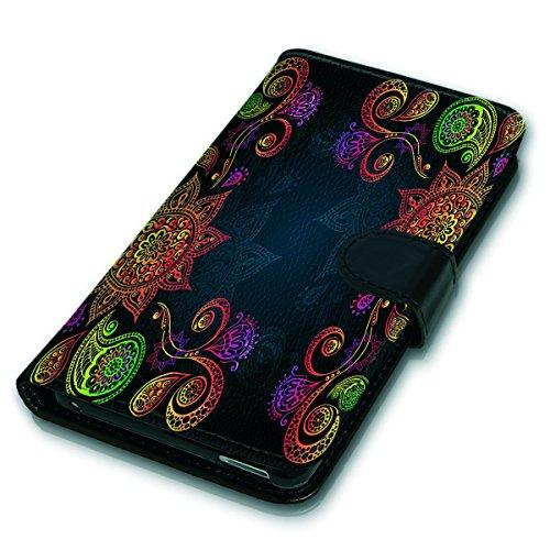 Wallet Book Style Flip Handy Tasche Case Schutz Hülle Schale Motiv Etui für Apple iPhone 6 / 6S - Variante UMV12 Design12 Design 7