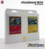 ESAM Box #tooboost ArkaniE (Arkani) und VIKAVOLT (Donarion) - Sun and Moon - 10 English Karten Pokemon