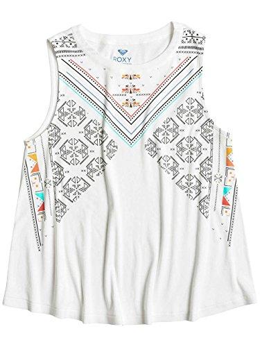 Roxy Aztectexmex T-Shirt Femme MARSHMELLOW