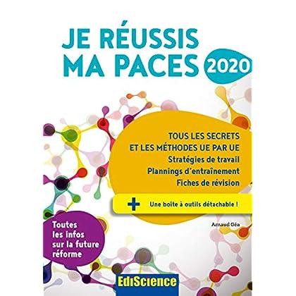 Je réussis ma PACES 2020 - Tous les secrets et les méthodes UE par UE