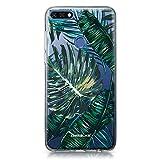 CASEiLike Huawei Y7 2018 case, Tropical Palm Tree 2238