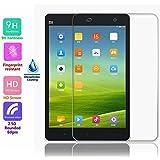 Voguecase® Protector de vidrio templado de vidrio templado para Xiaomi Mi Pad 2 Protector de pantalla Ultra HD - Extreme Clarity 9H duro super delgado 2.5D clara
