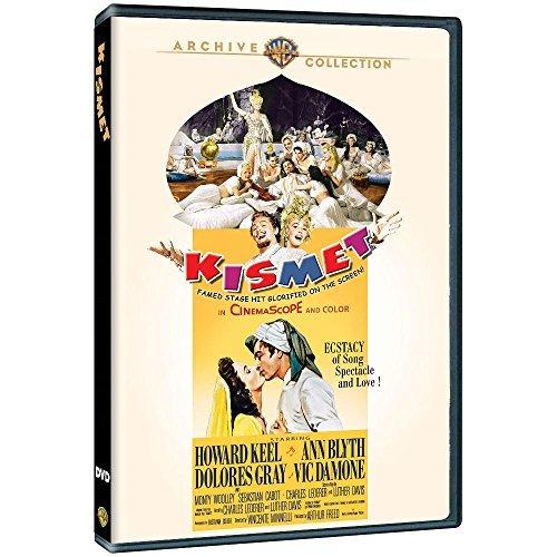 KISMET Howard Keel Ann Blyth 1955 (region 2)